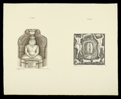 Drawings depicting sculpture from Amaravati and S. India